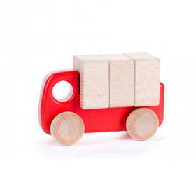 Truck With Blocks