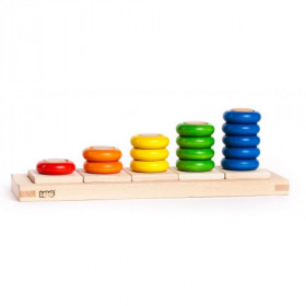 Rings Stacking Board